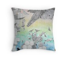 Night Stalkers at Dusk Throw Pillow