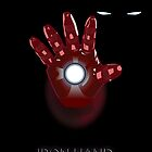 Iron man  - Iron hand by Mixposters
