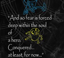 Adventure Time, Finn and Jake Quote  by Mixposters