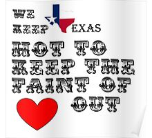 Why Texas is Hot Poster
