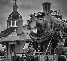 Engine 1095 II - B&W by PhotosByHealy