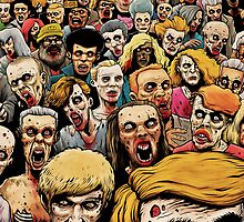 Zombie Horde by Tim Molloy