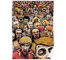 Zombie Horde Poster