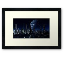 Worldship - Earth Seeker Framed Print