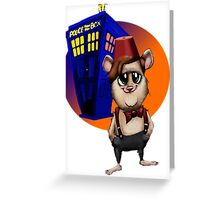 You never forget Your first Hammy! Greeting Card
