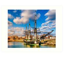 Friendship of Salem - Massachusetts Sailing Ship Art Print