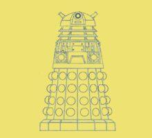 Dalek Blueprint Baby Tee
