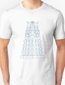 Dalek Blueprint Unisex T-Shirt