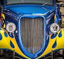 34 Ford in blue by Tony  Bazidlo