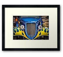 34 Ford in blue Framed Print