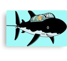 Tintin Submarine Canvas Print