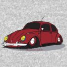 VW Beetle by GrumpyDog