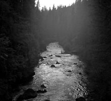 Twilight - Upper Rogue River by Harry Snowden