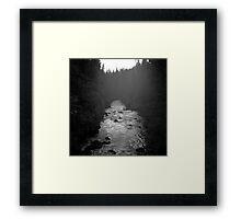 Twilight - Upper Rogue River Framed Print