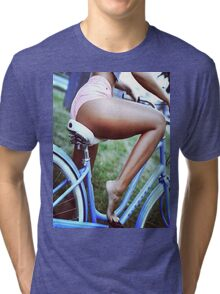 Bicycle babe Tri-blend T-Shirt