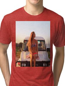 Hot girl Tri-blend T-Shirt