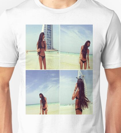 Beautiful Beach Girl Unisex T-Shirt