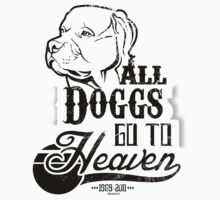 ''All Doggs go to Heaven'' Black by DaCompany