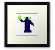 Mage 8-bit Framed Print