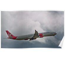 Virgin A340-600 Poster