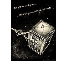 Winchesters Vs. TARDIS Photographic Print
