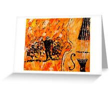 Symphony  Greeting Card