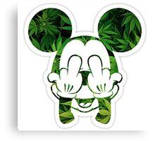 Mickey Kush Canvas Print