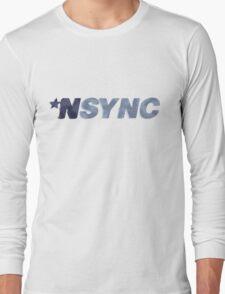 Nsync - weathered logo Long Sleeve T-Shirt