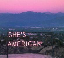 The 1975 - She's American Sticker