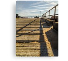 Lifeboat Ramp Canvas Print