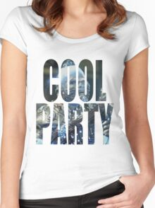 Cool Party Women's Fitted Scoop T-Shirt