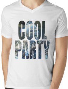 Cool Party Mens V-Neck T-Shirt
