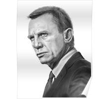 Daniel Craig (James Bond) Poster