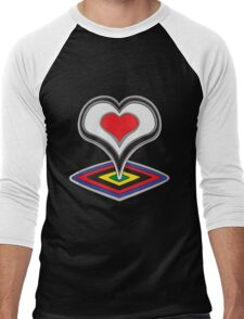 De Rosa Men's Baseball ¾ T-Shirt