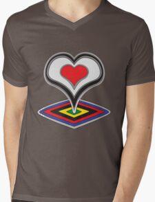 De Rosa Mens V-Neck T-Shirt