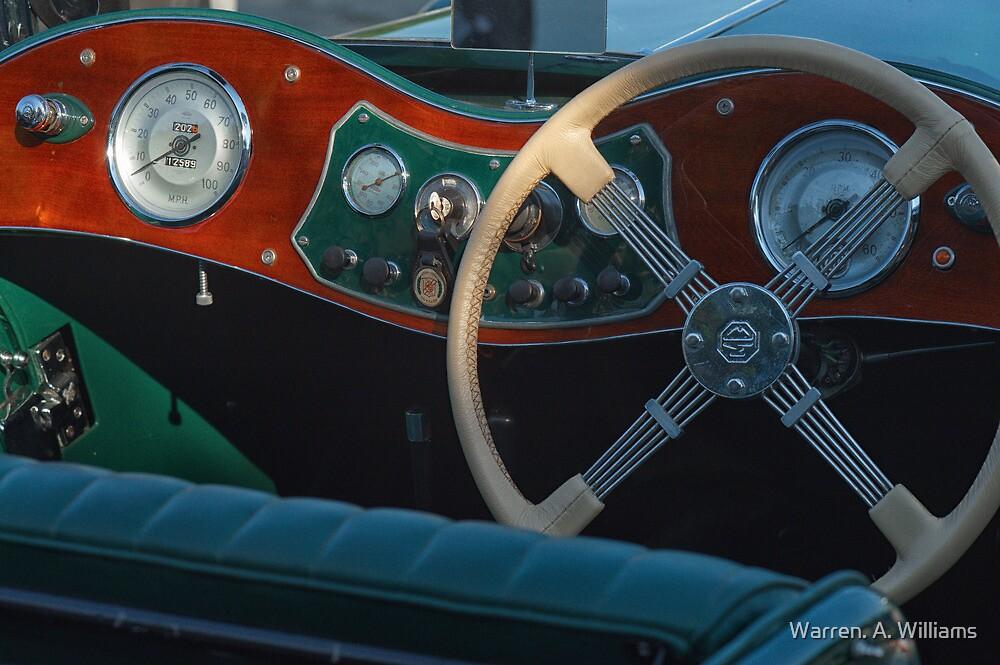 MG Dash by Warren. A. Williams