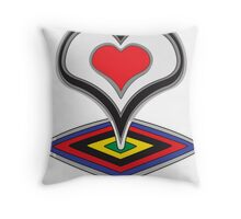 De Rosa Throw Pillow