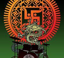 Dragon drum by kuuma