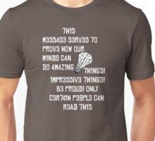 Brain Tricks Unisex T-Shirt