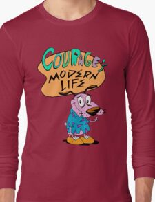 Courage's Modern Life Long Sleeve T-Shirt