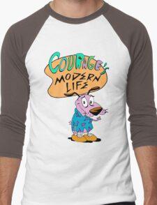 Courage's Modern Life Men's Baseball ¾ T-Shirt
