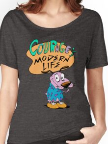 Courage's Modern Life Women's Relaxed Fit T-Shirt
