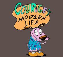 Courage's Modern Life Unisex T-Shirt