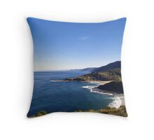 Garie Beach Throw Pillow