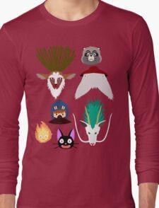 Ghibli characters ~ 2 Long Sleeve T-Shirt