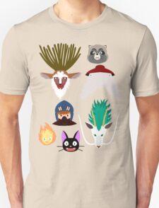Ghibli characters ~ 2 T-Shirt