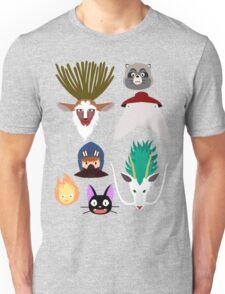 Ghibli characters ~ 2 Unisex T-Shirt