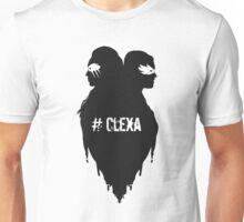Silhouettes - #Clexa Unisex T-Shirt