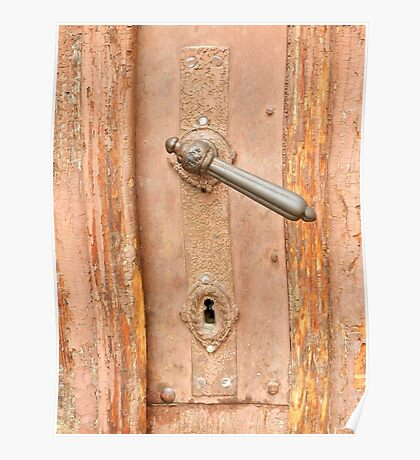 Old Style Door Handle Poster