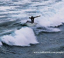 Surfing Torquay 1 by daisy-lee